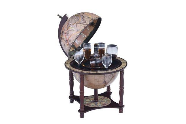 Глобус-бар настольный, 33 см сфера, Зодиак, 33006N