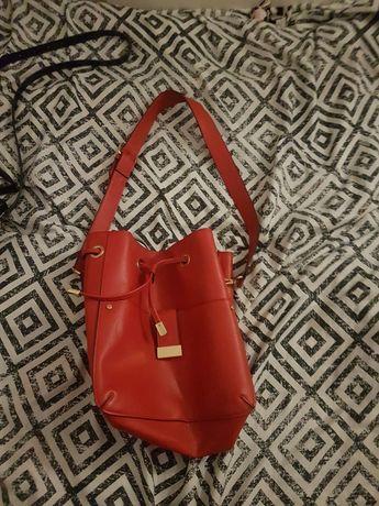 czerwona torba Orsay