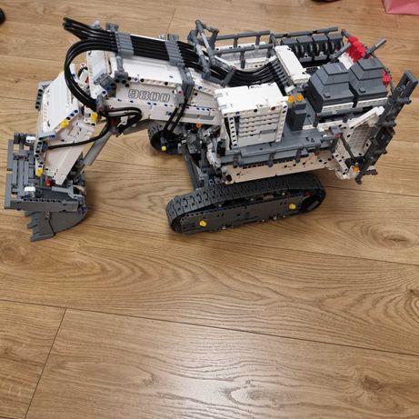LEGO Technic 42100 Koparka Liebherr  R 9800 Excavator + 12 baterii