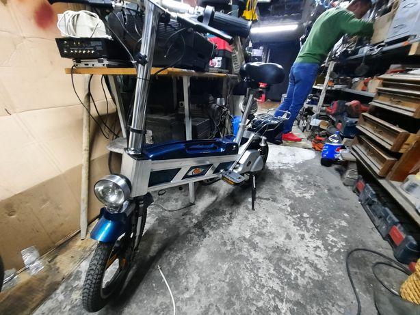 Składak elektryczny rower