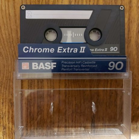 Kasety chromowe BASF Chrome Extra II 90, BASF Chrome Super II 90 bdb++