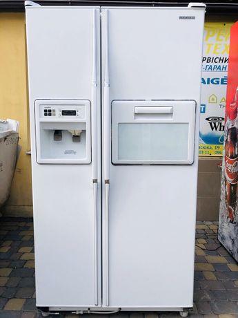 Холодильник двухдверный Samsung 2х дверный Side by Side bosch siemens