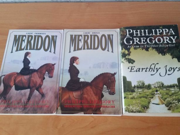 Zestaw książki Philippa Gregory Meridion Earthly days