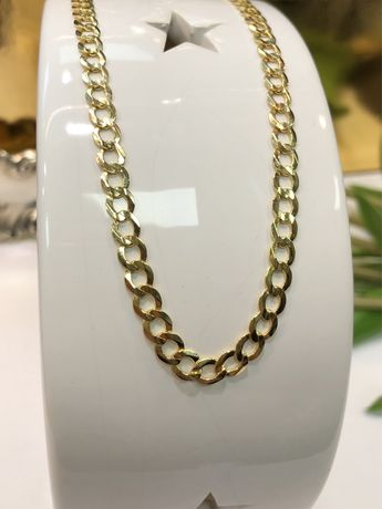 Złoto Złoty łańcuszek męski pancerka pr 585 14k