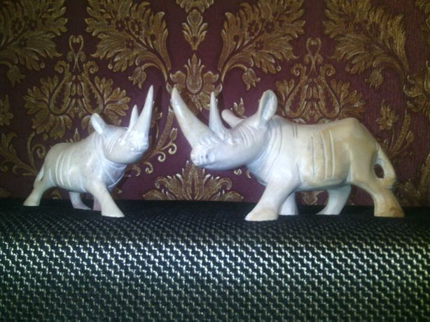 Статуэтка носорог, 80-е
