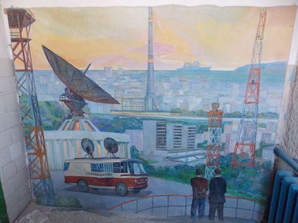 Огромное полотно эпохи Соцреализма. Сделано в СССР