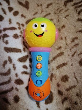 Веселый микрофон для малышей