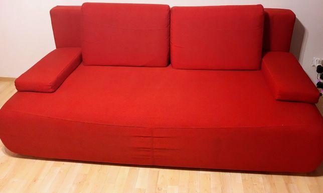 "Sofa rozkładana,,Black Red White""-stan bardo dobry."
