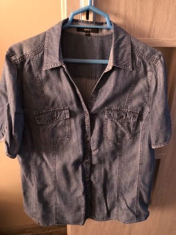 Bluzka-koszula jeansowa