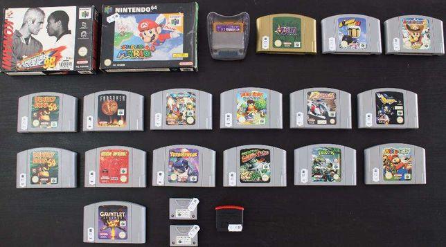 Nintendo 64 Jogos Originais PAL