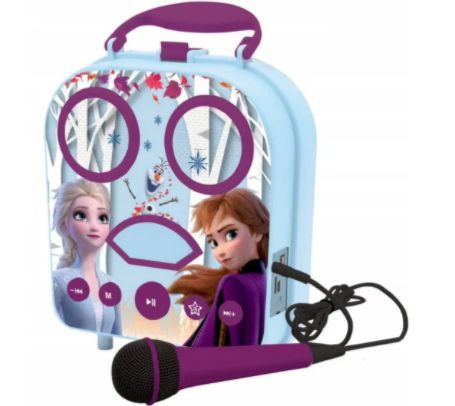 Frozen 2 Karaoke Bluetooth AUX Mikrofon Torebka Polecam