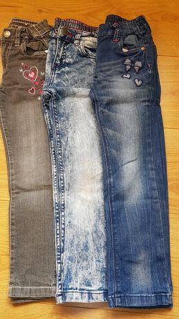 Spodnie dla dziewczynki 110