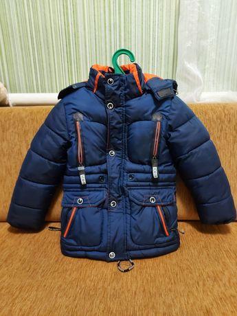 Курточка зимова на 116 см