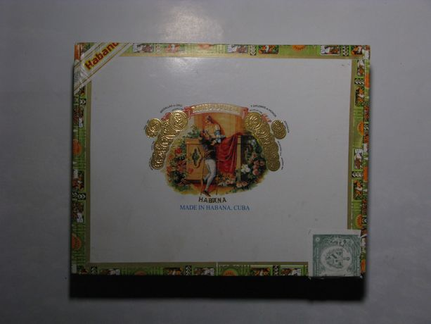 Пустые коробки из-под сигар Куба / Голландия