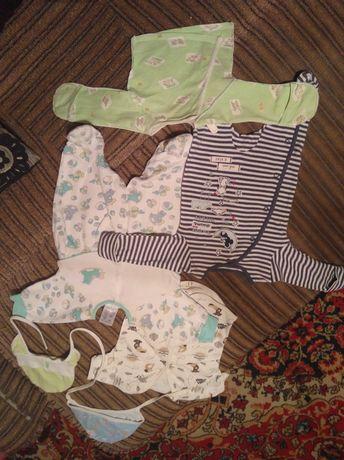 Продам вещи на малышей от 0 до3 месяцев