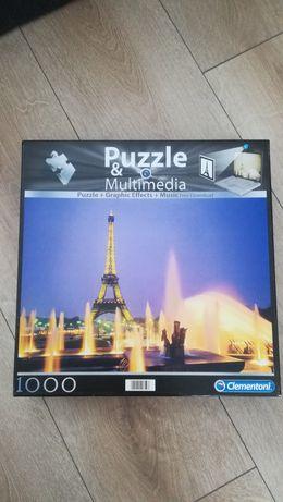 Puzzle 1000 wieża Eiffla