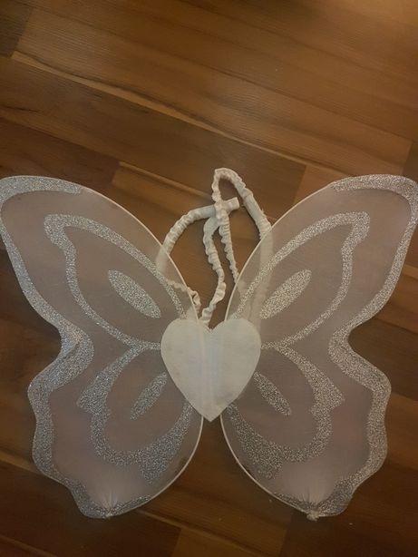 Aniołek skrzydełka lub wróżki białe