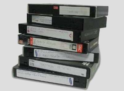 Мешок VHS видеокассет