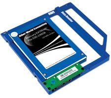 """Para macbook pro 13 """"15"""" 17 """"Plástico HDD caddy para um 2 disco"""