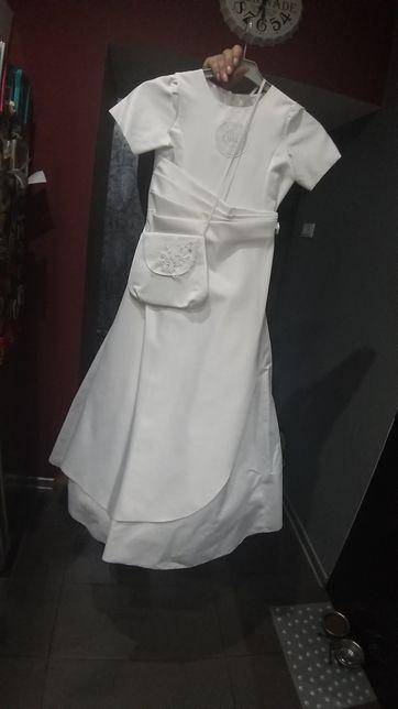 Sukienka Komunijne torebka wianuszek