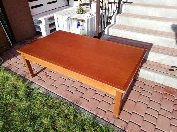 Stolik kawowy ława stół drewniany solidny drewno