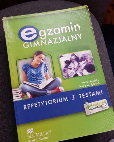Egzamin Gimnazjalny Angielski Repetytorium z Testami Macmillan + CD