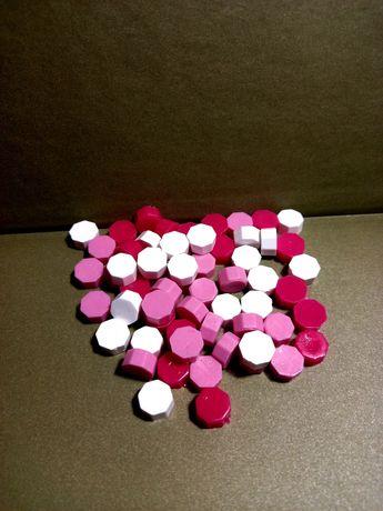 Сургуч в таблетках рожевий мікс