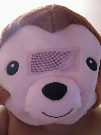 Маска, голова ростовой куклы Медведь для праздника или маскарада