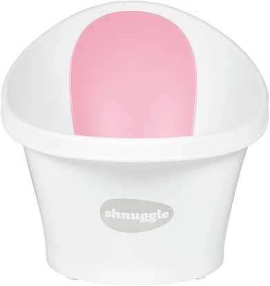 Ванночка Shnuggle Білий/Рожевий