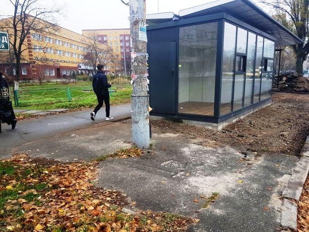 Остановочный комплекс(павильон, МАФ, киоск) 14м2 Оболонь, Малиновского