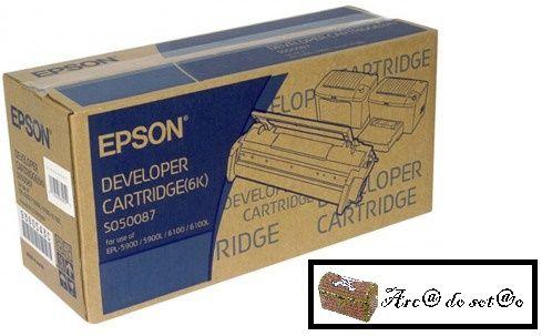 TONER Epson EPL-5900 /6100 Developer Cartridge Black 6k