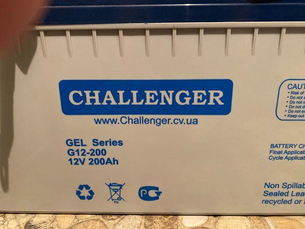 Новый Аккумулятор Challenger 12В, 200А, GEL