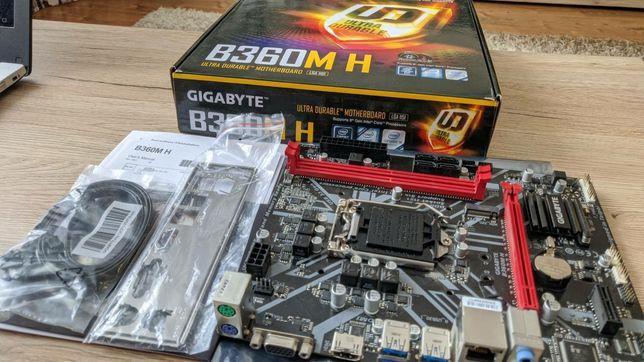 Материнская плата GIGABYTE B360M H rev1.0 (RTL) LGA1151  PCI-E D