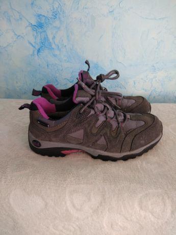 Кроссовки женские замшевые кожаные Jack Wolfskin 36р для девочки