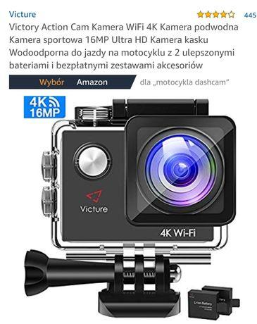 Victory Action Cam Kamera WiFi 4K Kamera podwodna Kamera sportowa 16MP