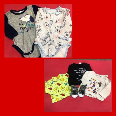 Продам пакет одежды на мальчика 3-6 месяцем