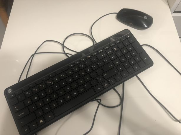 Myszka i klawiatura HP