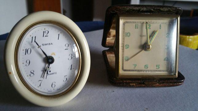 2 relógios despertadores antigos