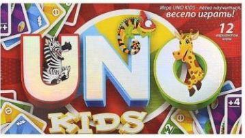 Детская настольная карточная игра Уно UNO kids, Danko Toys