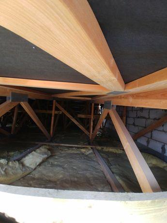 Belki konstrukcyjne, konstrukcja drewniana
