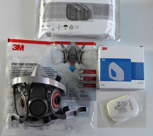 Maska Lakiernicza Kompletna 3M Rozmiar M