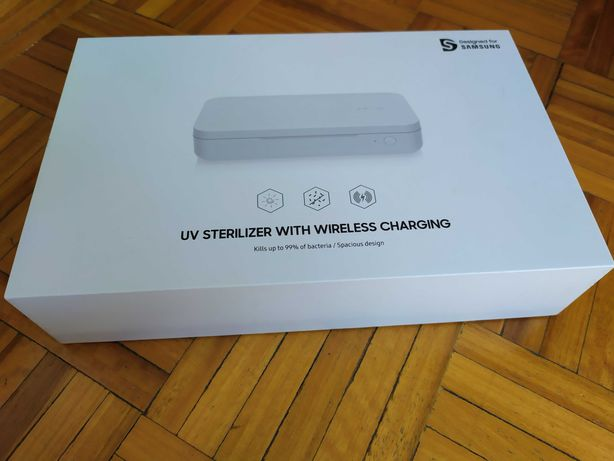 Esterilizador UV com Carregamento sem fios Samsung