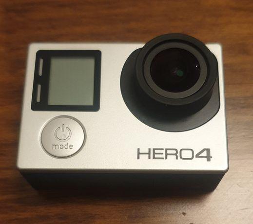 GoPro Hero 4 Silver Edition + Acessórios