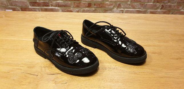 Buty dziewczęce ZARA Mickey Mouse - rozmiar 34, stan BDB