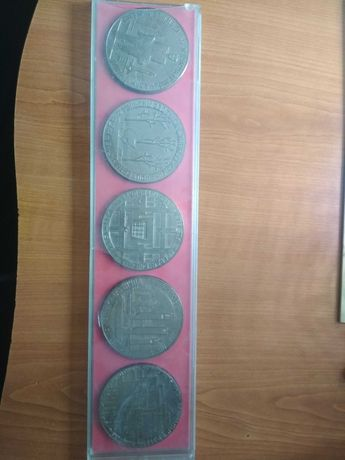 Набор из 5 медалей Хатынь 1941-1945