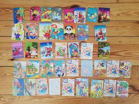 Karteczki z notesików z lat 90-tych