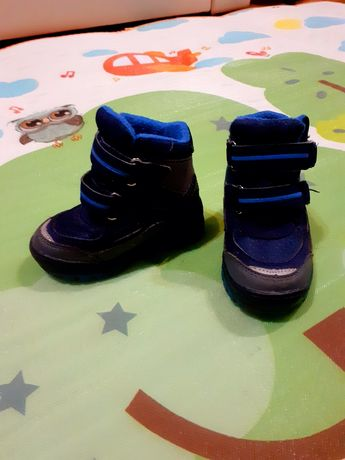 Buty ocieplane dla chłopczyka