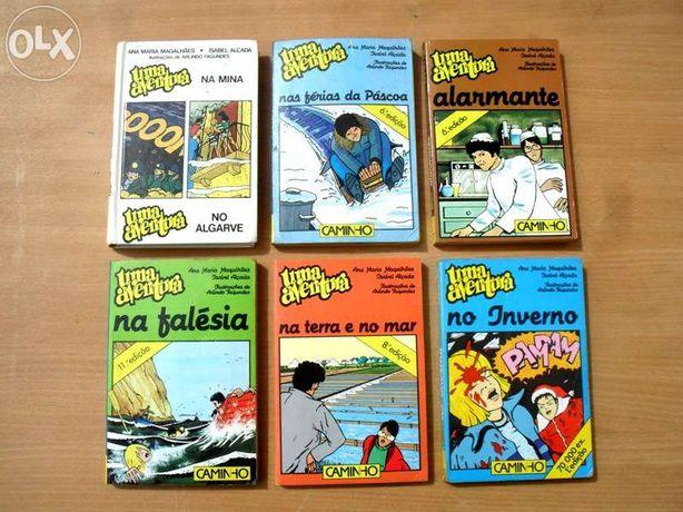 Livros Edição Uma Aventura e O Clube das Chaves