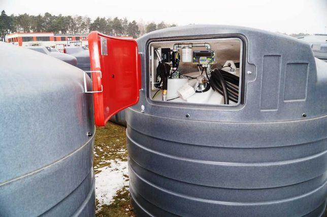 MIASTKO Zbiornik na paliwo dwupłaszczowy 5000 l Eco-Line SWIMER