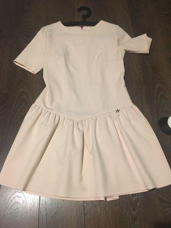 Sukienka M poekna pudrowy roz Sukineki takze na innych aukcjach
